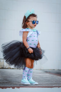 Black Hi Low, High Low Tutu
