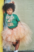 Peach Hi Low, High Low Tutu
