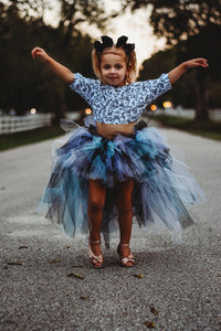 Dark Pastel Hi Low, High Low Tutu