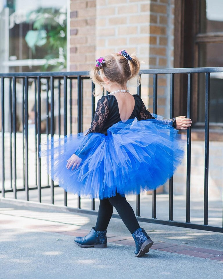 Royal Blue Tutu Skirt
