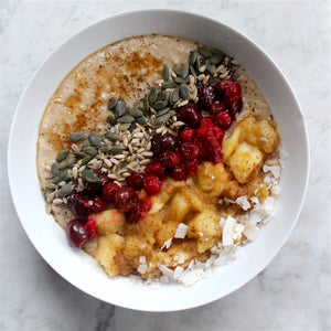 Winter Apple Berry Porridge