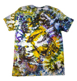 """Koi Pond"" Tie-Dyed Tee - Large"