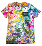"""Koi Pond"" Tie-Dyed Tee - Medium"