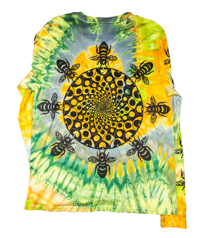 The Hive Long Sleeve Tie-Dye - Medium