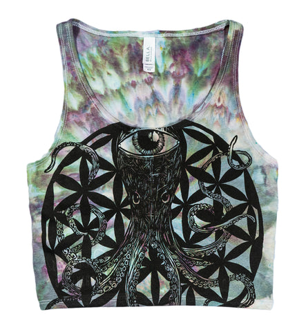 Octopus's Garden Crop Tank - Small