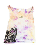 """Koi Pond"" Tie-Dyed Crop Top - Small"