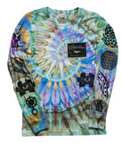 Ancient Aliens Long Sleeve Tie-Dye - Small