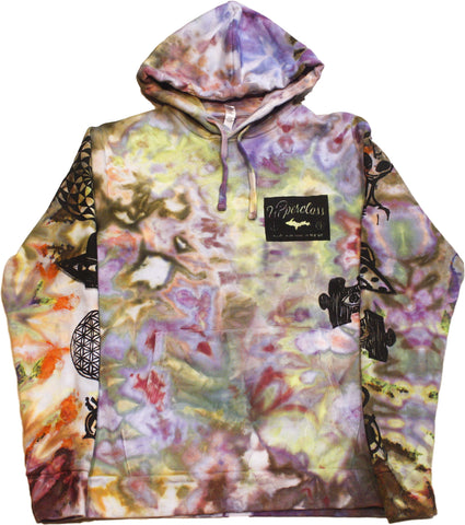 Ancient Aliens Tie-Dyed Hoodie - Small