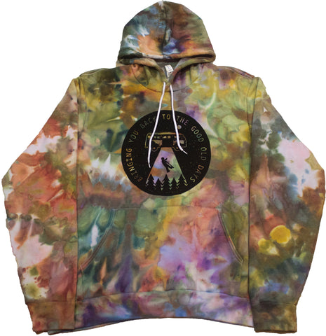 Bringing You Back Woodcut Hoodie - XXL
