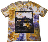 """Ray of Light"" Woodcut Tie-Dye - Large"