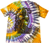 Merlin Woodcut Tie-Dye - Large