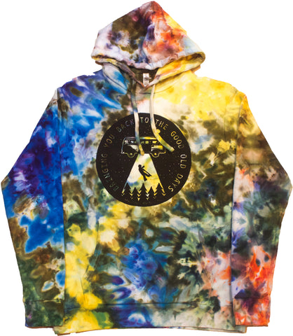 Bringing You Back Woodcut Hoodie - Medium
