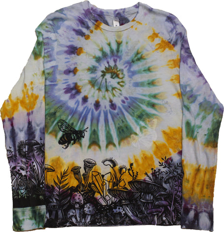 """Mushroom Garden"" Long Sleeve - Medium"