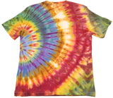 """Ray of Light"" Woodcut Tie-Dye - Medium"