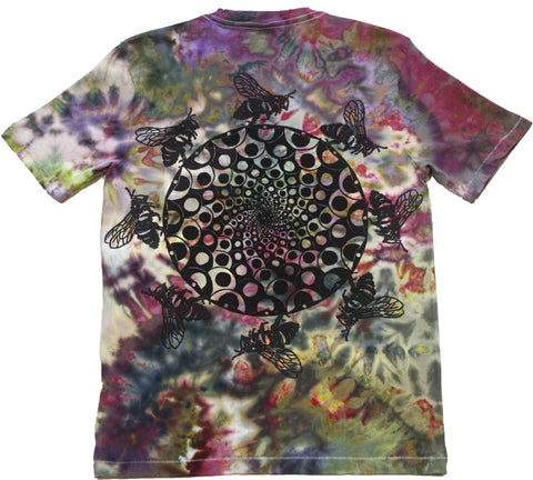 The Hive Woodcut Tie-Dye - Small