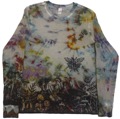 """Mushroom Garden"" Long Sleeve - Small"