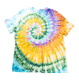 """Ray of Light"" Woodcut Tie-Dye - XL"
