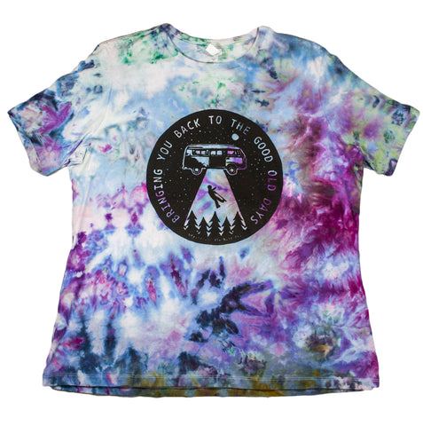 Women's Bringing You Back Tie-Dye - XL