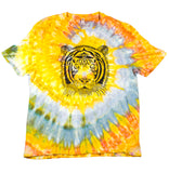 """Tiger"" Woodcut Tie-Dye - XL"