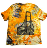 """Mackinac Abduction"" Woodcut Tie-Dye - XXL"