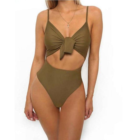 Army Green One Piece