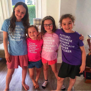 Future Female t-shirt The Future is Female childrens t-shirt kids tshirt girls feminist tshirt