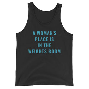 WEIGHTS ROOM - women's boyfriend fit workout & gym top
