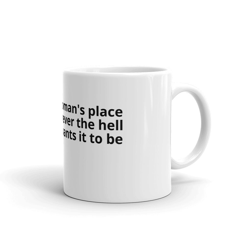 WHEREVER THE HELL - mug