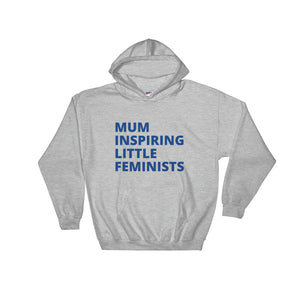 MILF - women's boyfriend fit hooded sweatshirt (white/grey/black/navy blue)