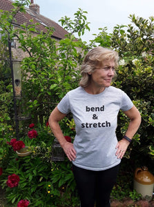 BEND & STRETCH - women's short sleeve t-shirt (she-shirt)