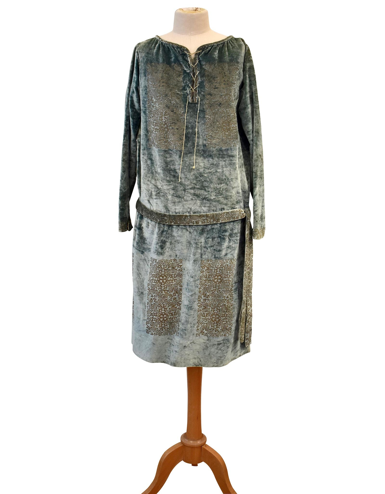 Fortuny 1920's  Silk Velvet Tunic