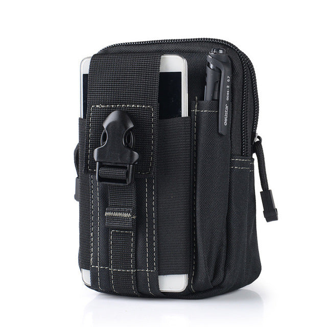 Weather Resistant Multi-functional Waist Pouch