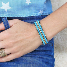 Load image into Gallery viewer, ☆Nomad Bracelet☆ Turquoise☆