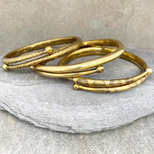 Load image into Gallery viewer, Shanti Arm Bracelet Spiral ☆Brass☆