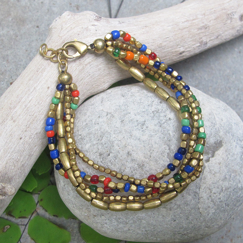 ☆Beaded Bracelet☆ Multicoloured☆
