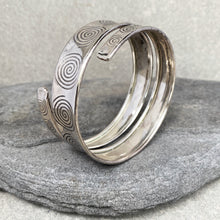 Load image into Gallery viewer, Wrapped Arm Bracelet Spiral ☆Silver☆