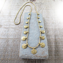 Load image into Gallery viewer, Mandala Necklace ☆Brass☆