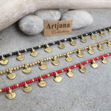 Load image into Gallery viewer, ☆Tribal Anklet☆ Black☆ Red☆