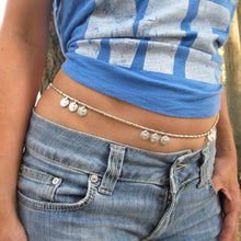 Load image into Gallery viewer, ☆Bohemian Sash Belt☆ Silver☆