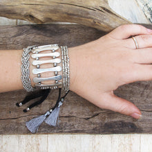 Load image into Gallery viewer, ☆Gypsy Cuff Bracelet☆ Silver☆