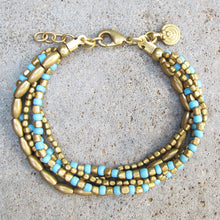Load image into Gallery viewer, ☆Beaded Bracelet☆ Turquoise☆