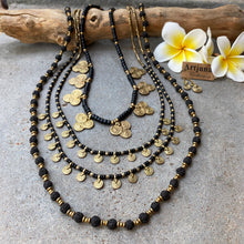 Load image into Gallery viewer, Rudraksha Seed Necklace ☆Black☆