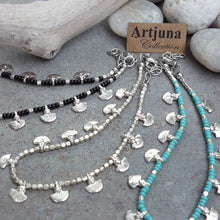 Load image into Gallery viewer, ☆Tribal Anklet☆ Silver☆ Black☆ Turquoise☆