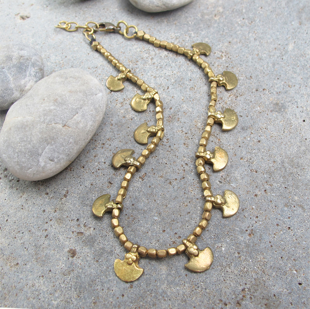 ☆Tribal Anklet☆ Brass☆