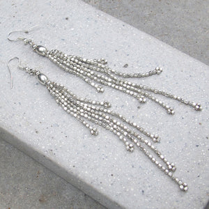 ☆Tassel Earrings☆ ☆Silver☆