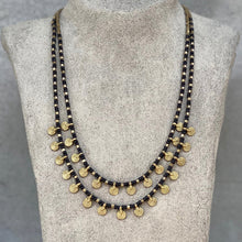 Load image into Gallery viewer, Sai Layered Necklace ☆Black☆