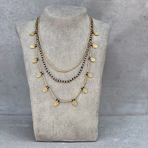 Lee Layered Necklace ☆Black☆