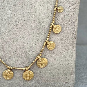 Mandala Necklace ☆Brass☆