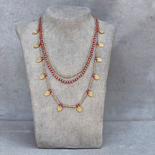 Load image into Gallery viewer, Lee Layered Necklace ☆Red☆