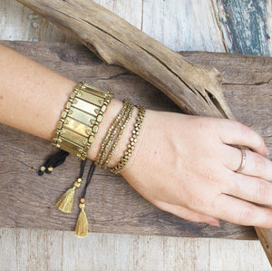 ☆Tribal Cuff Bracelet☆ Brass☆